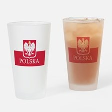 Cute Polska Drinking Glass