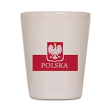 Cute Vintage polska Shot Glass