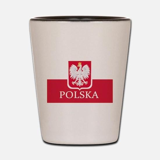 Unique Poland Shot Glass
