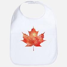 Maple Leaf Art Bib