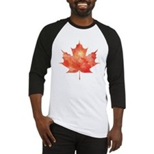 Maple Leaf Art Baseball Jersey