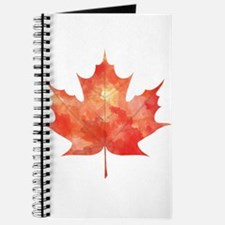 Maple Leaf Art Journal