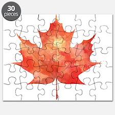 Maple Leaf Art Puzzle