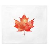 Maple leaf King Duvet Covers