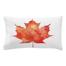 Maple Leaf Art Pillow Case
