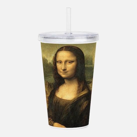 Mona Lisa Acrylic Double-wall Tumbler