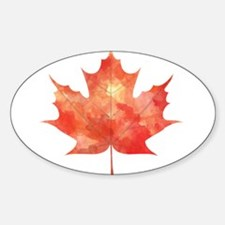 Maple Leaf Art Decal