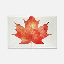 Maple Leaf Art Magnets