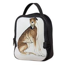 Whippet Sitting Neoprene Lunch Bag