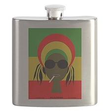 Rasta Queen Flask