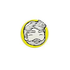 beard Mini Button