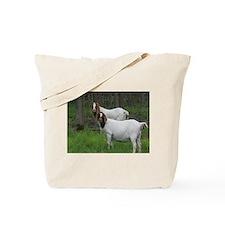 Boer Goats Tote Bag