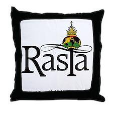 Rasta Globe Throw Pillow