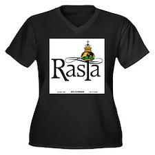 Rasta Globe Plus Size T-Shirt
