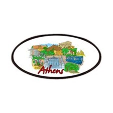 Athens - Greece Patches