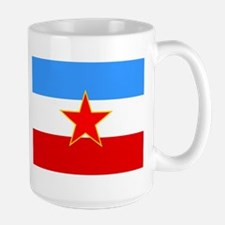 Yugoslavia Flag Mugs