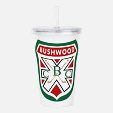 Bushwood CC Crest Caddyshack Acrylic Double-wall T