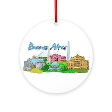 Buenos Aires - Argentina Ornament (Round)