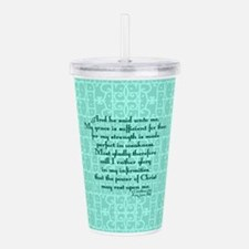 Cute Faith Acrylic Double-wall Tumbler