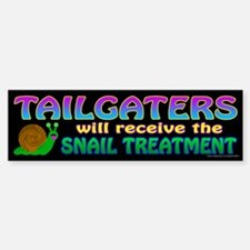 Snail Treatment (sticker) Bumper Bumper Bumper Sticker