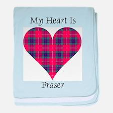 Heart - Fraser baby blanket
