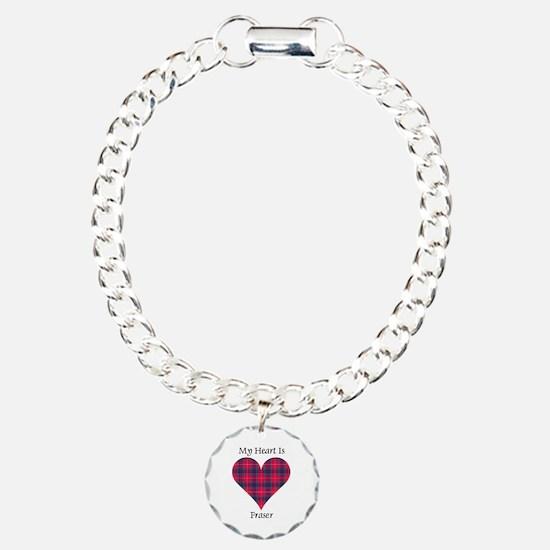 Heart - Fraser Charm Bracelet, One Charm