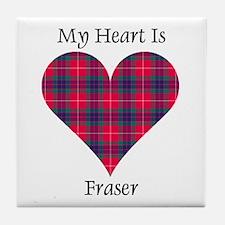 Heart - Fraser Tile Coaster