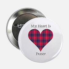 """Heart - Fraser 2.25"""" Button"""