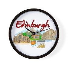 Edinburgh - Scotland Wall Clock