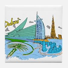 Dubai - United Arab Emirates Tile Coaster
