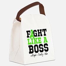 Non-Hodgkin's Lymphoma Fight Canvas Lunch Bag