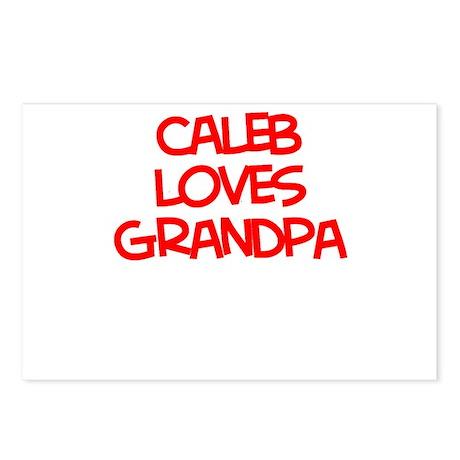 Caleb Loves Grandpa Postcards (Package of 8)