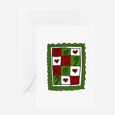 Christmas Quilt Greeting Cards