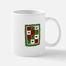 Christmas Quilt Mugs