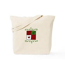 Quilt Square Tote Bag