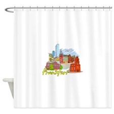 Frankfurt - Germany Shower Curtain
