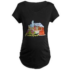 Frankfurt - Germany Maternity T-Shirt
