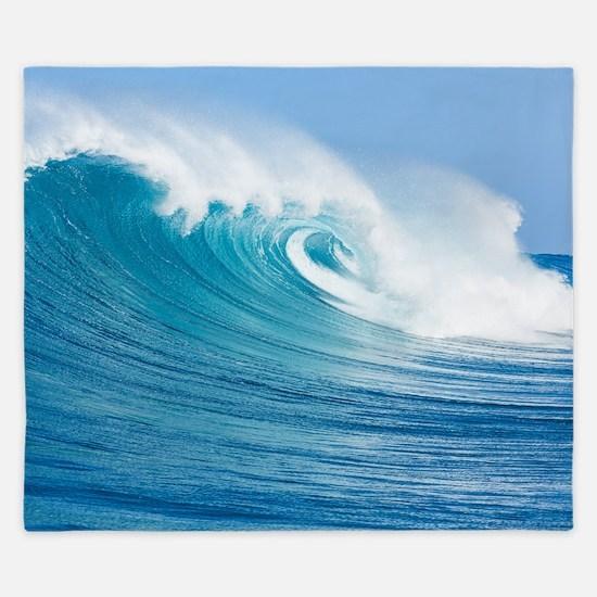 Blue Wave King Duvet