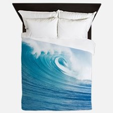 Blue Wave Queen Duvet