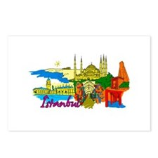 Istanbul - Turkey Postcards (Package of 8)