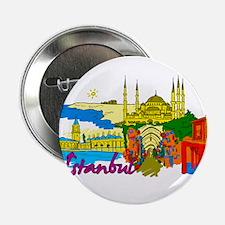 "Istanbul - Turkey 2.25"" Button"