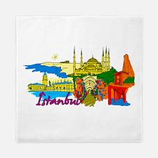 Istanbul - Turkey Queen Duvet