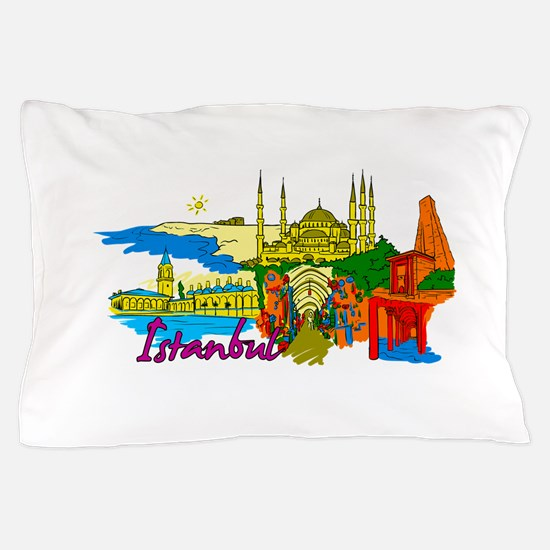 Istanbul - Turkey Pillow Case