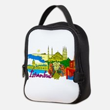 Istanbul - Turkey Neoprene Lunch Bag