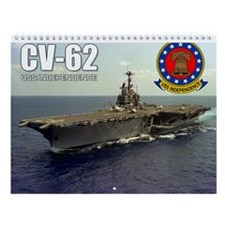 Uss Independence Cv-62 Indy Wall Calendar