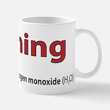 Warning DiHydrogen Monoxide Mugs