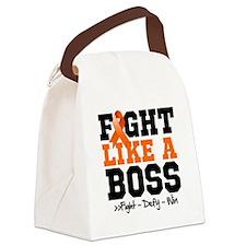 Leukemia Fight Canvas Lunch Bag