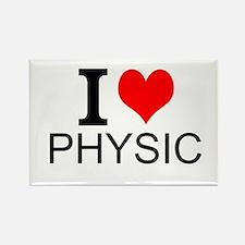 I Love Physics Magnets
