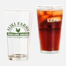 Aliki Farms. Portland Oregon Drinking Glass