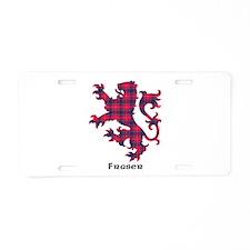Lion - Fraser Aluminum License Plate